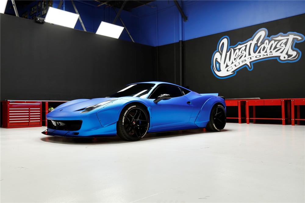 Justin Bieber's Ferrari 458 Italia Is Up For Sale 4