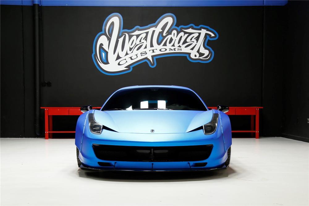 Justin Bieber's Ferrari 458 Italia Is Up For Sale 6