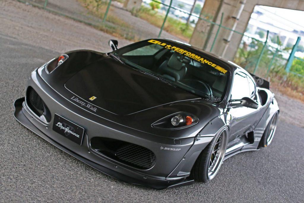 Liberty Walk's Ferrari F430 Is Beastly 4