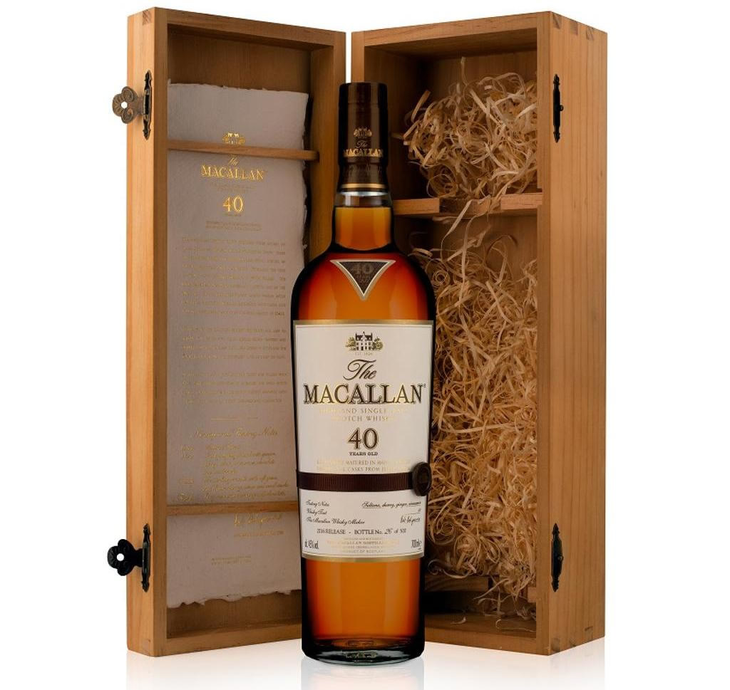 Macallan's 40 Year Old Whisky 1