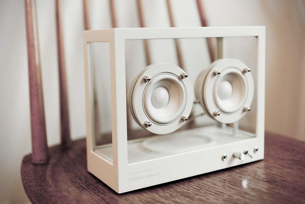 People People Creates A Small Transparent Speaker 2