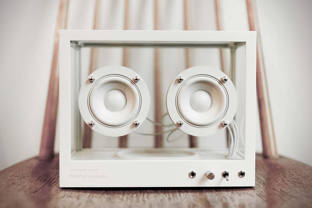 People People Creates A Small Transparent Speaker 3