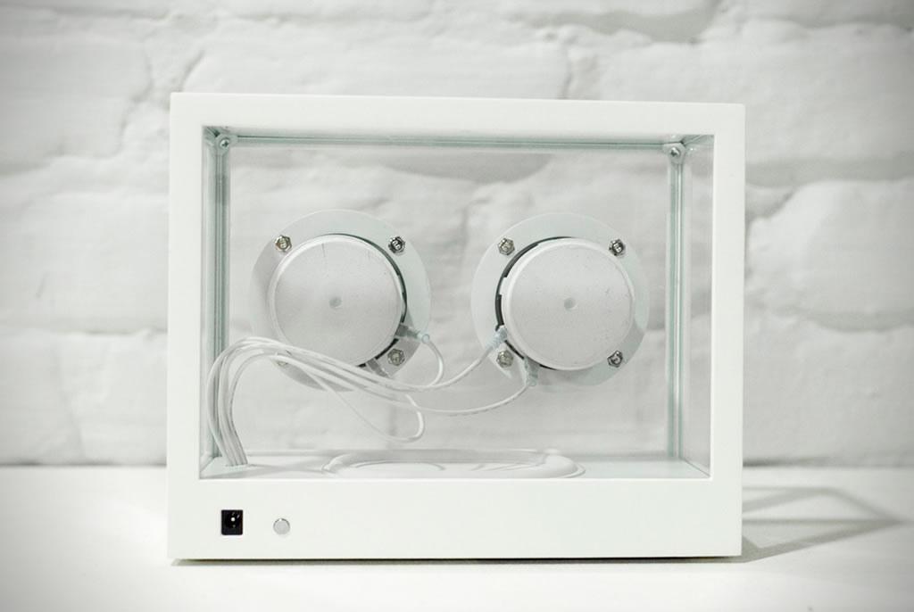 People People Creates A Small Transparent Speaker 4