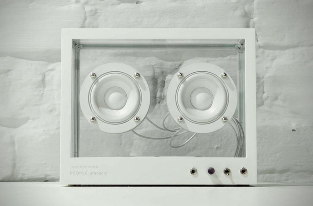 People People Creates A Small Transparent Speaker 5