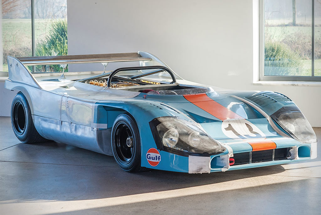 Porsche 917-10 Prototype From 1970 Is Auctioned Off 2