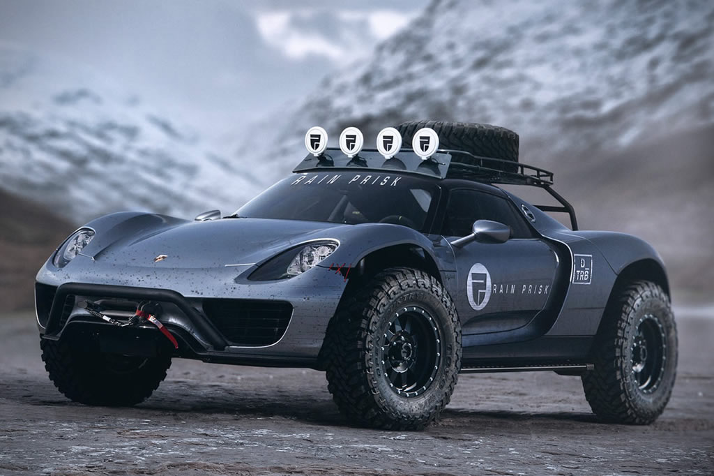 Porsche 918 Spyder Off-Road Edition 1
