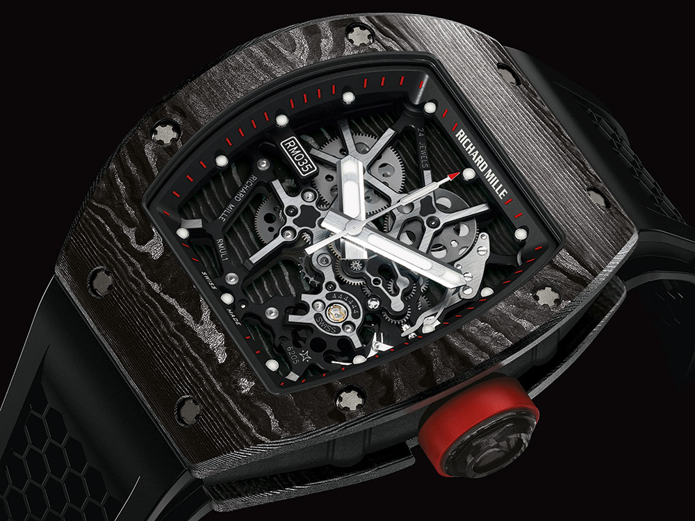 RM 035 Ultimate Edition Timepiece By Richard Mille (6)