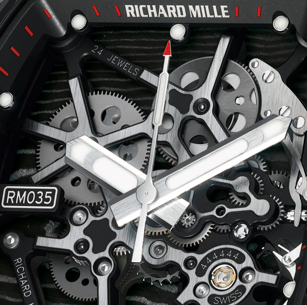RM 035 Ultimate Edition Timepiece By Richard Mille (4)