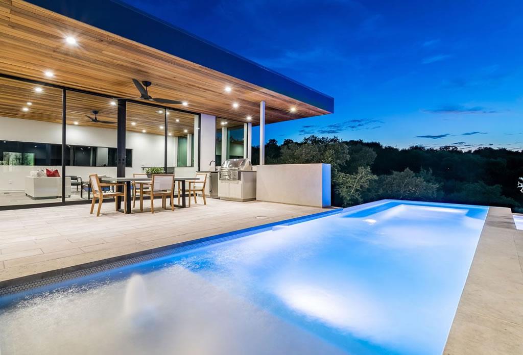 Splendid Home In Austin, Texas By Matt Fajkus Architecture 14