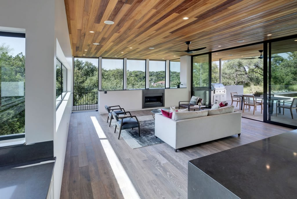 Splendid Home In Austin, Texas By Matt Fajkus Architecture 8