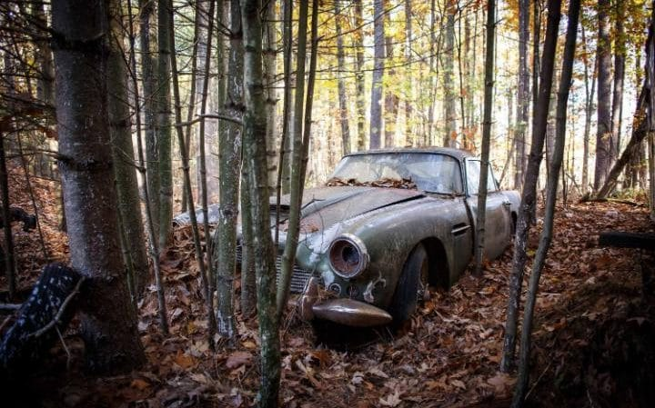 This Deserted Aston Martin DB4 Will Be Auctioned Off (7)