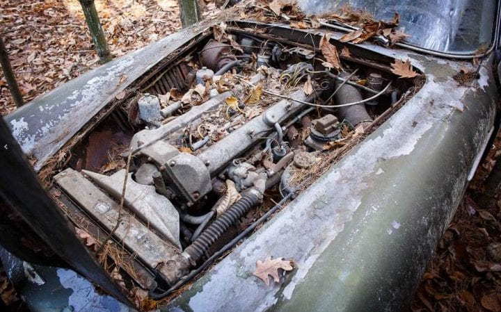 This Deserted Aston Martin DB4 Will Be Auctioned Off (6)