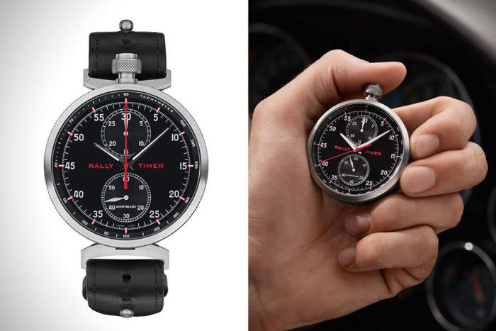 Timewalker Rally Timer Watch By Montblanc