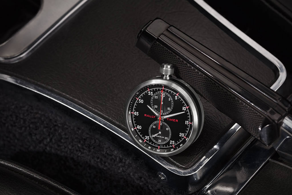 Timewalker Rally Timer Watch By Montblanc 2