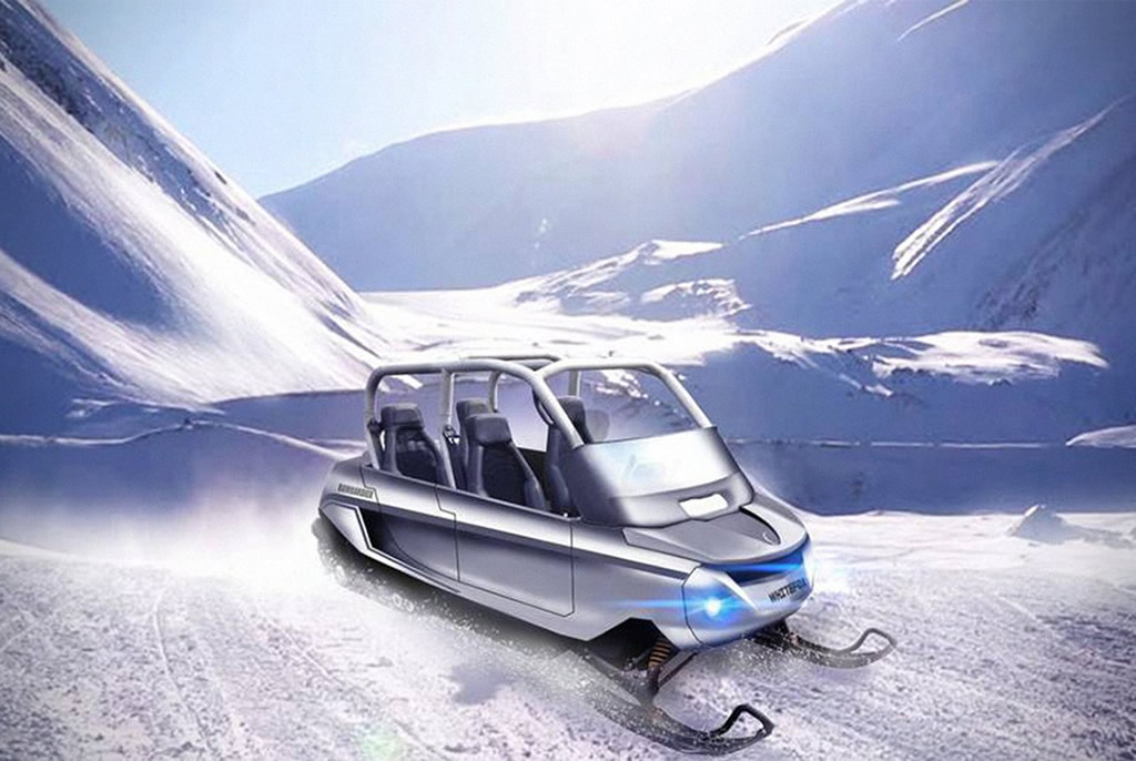 Whitefox Snowmobile By Charles Bombardier 3
