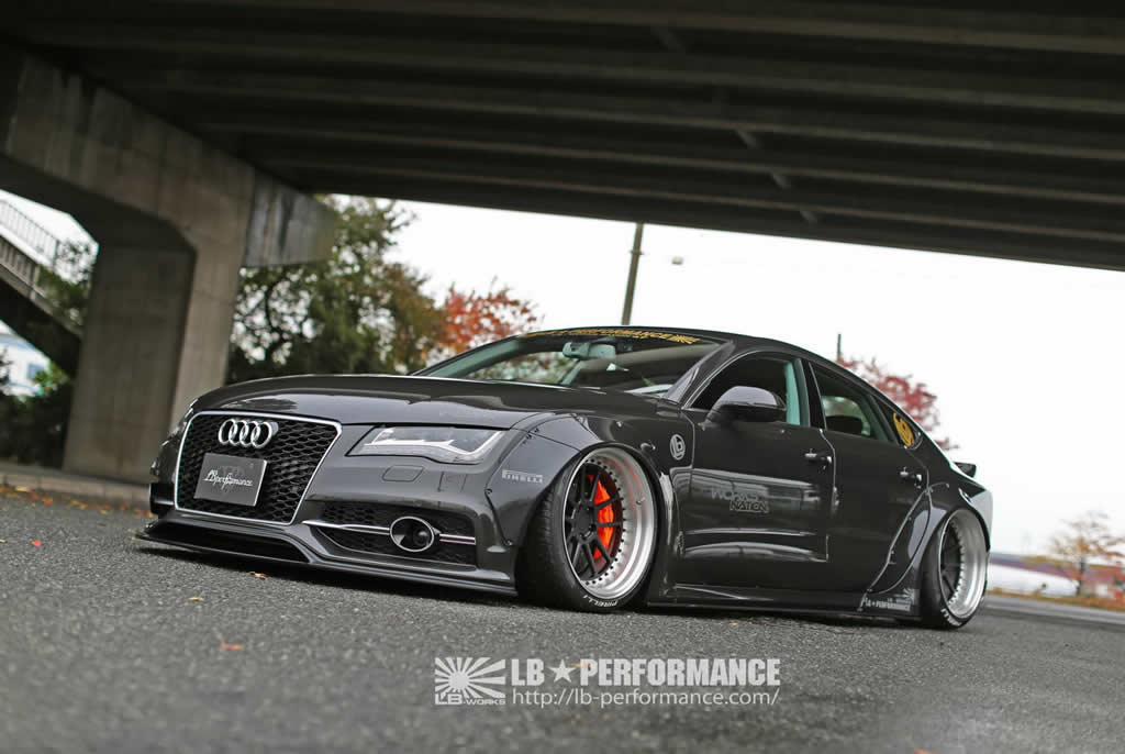Audi A7 & S7 Styling Upgrades From Liberty Walk 1