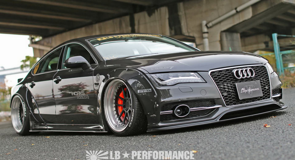 Audi A7 & S7 Styling Upgrades From Liberty Walk 2