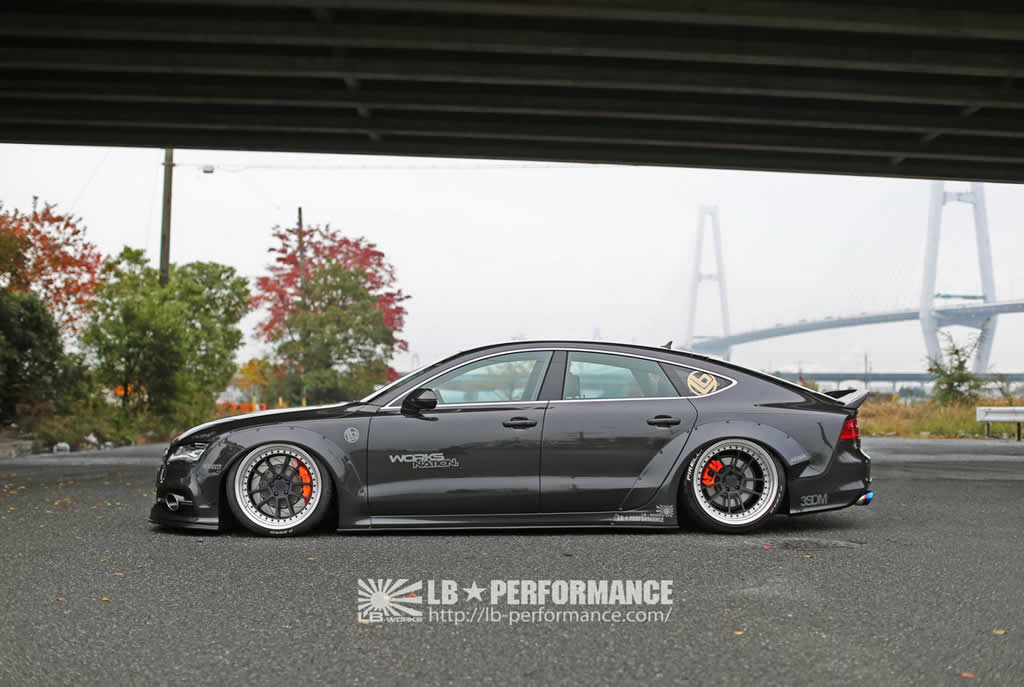 Audi A7 & S7 Styling Upgrades From Liberty Walk 3