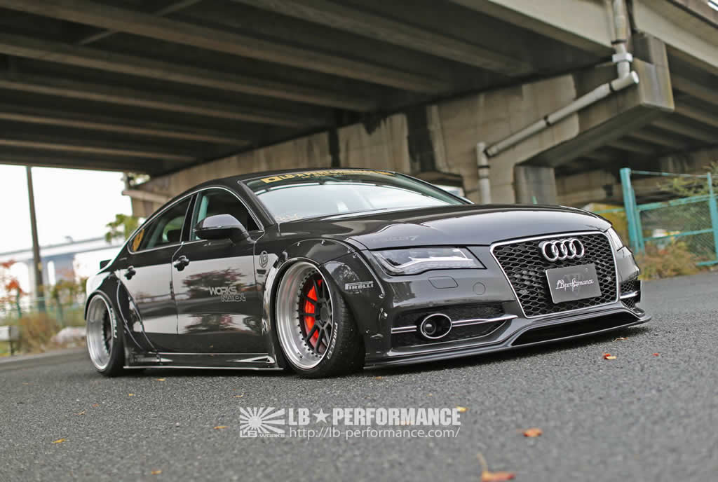 Audi A7 & S7 Styling Upgrades From Liberty Walk 4