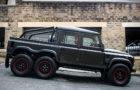 Beastly Flying Huntsman Land Rover Defender 6×6 Pickup 2