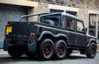 Beastly Flying Huntsman Land Rover Defender 6×6 Pickup 3