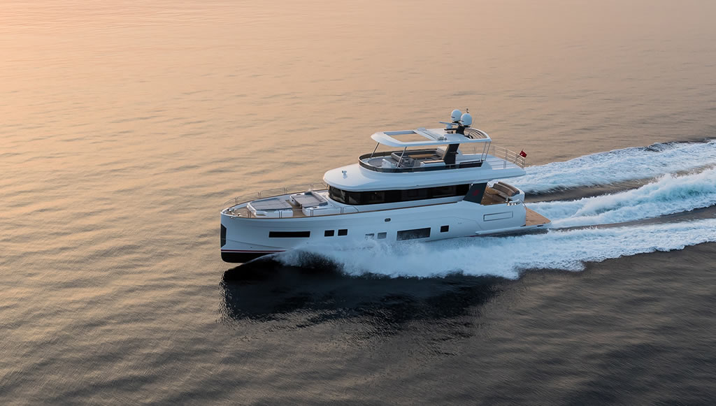 Beautiful Sirena 64 Yacht By Sirena Yachts 1