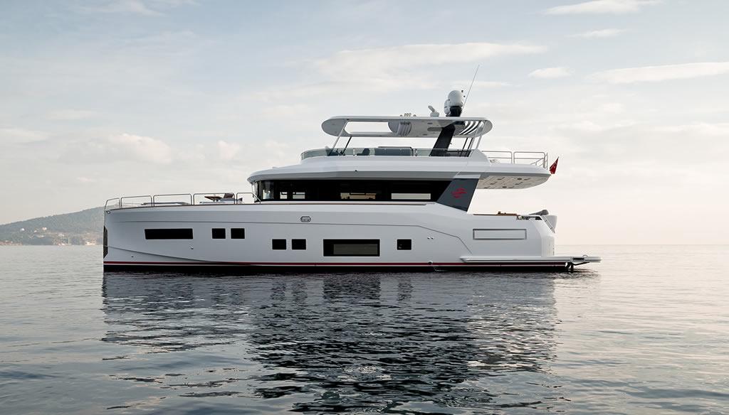 Beautiful Sirena 64 Yacht By Sirena Yachts 2