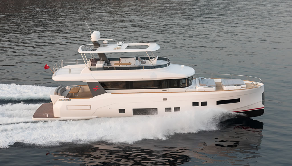 Beautiful Sirena 64 Yacht By Sirena Yachts 4