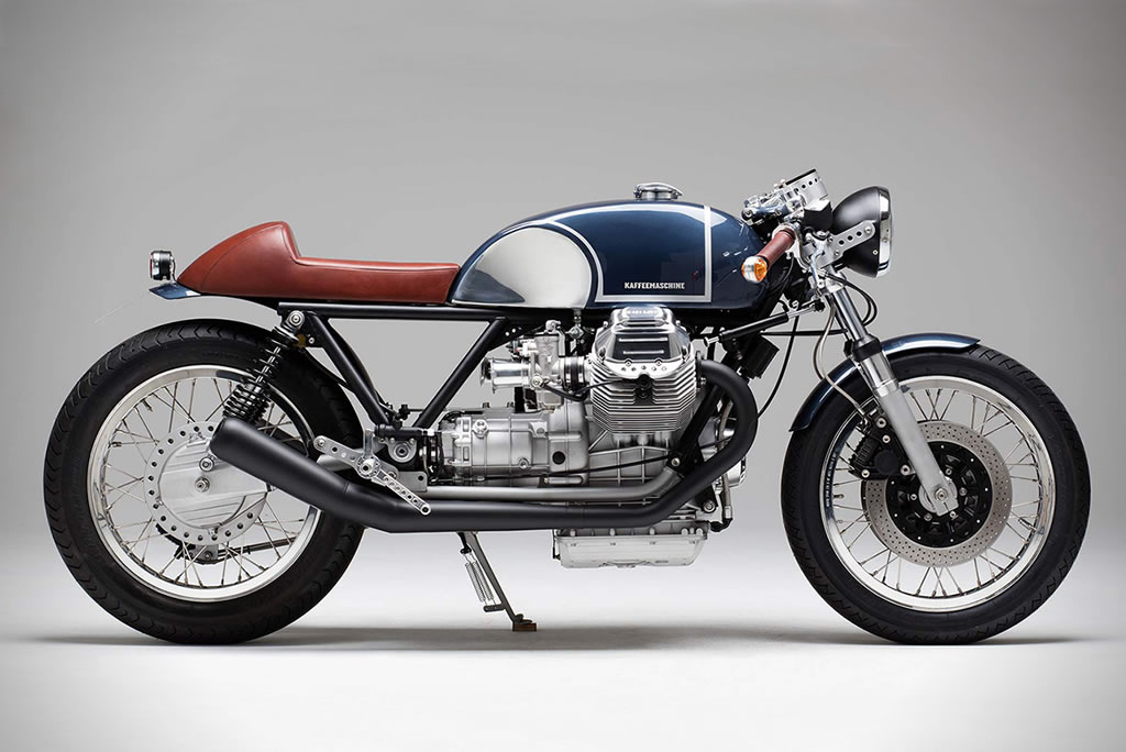 Kaffee Maschine's Moto Guzzi Le Mans MKIII Is Staggering 1