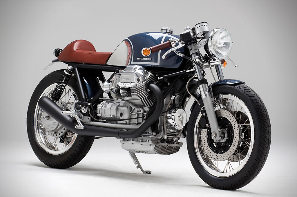 Kaffee Maschine's Moto Guzzi Le Mans MKIII Is Staggering 3