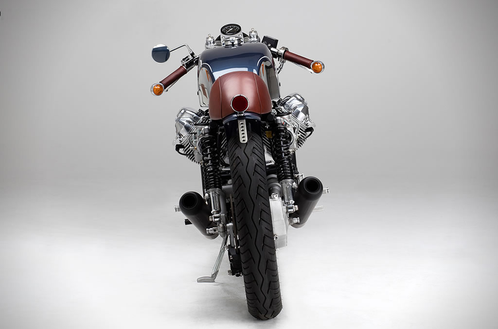 Kaffee Maschine's Moto Guzzi Le Mans MKIII Is Staggering 4