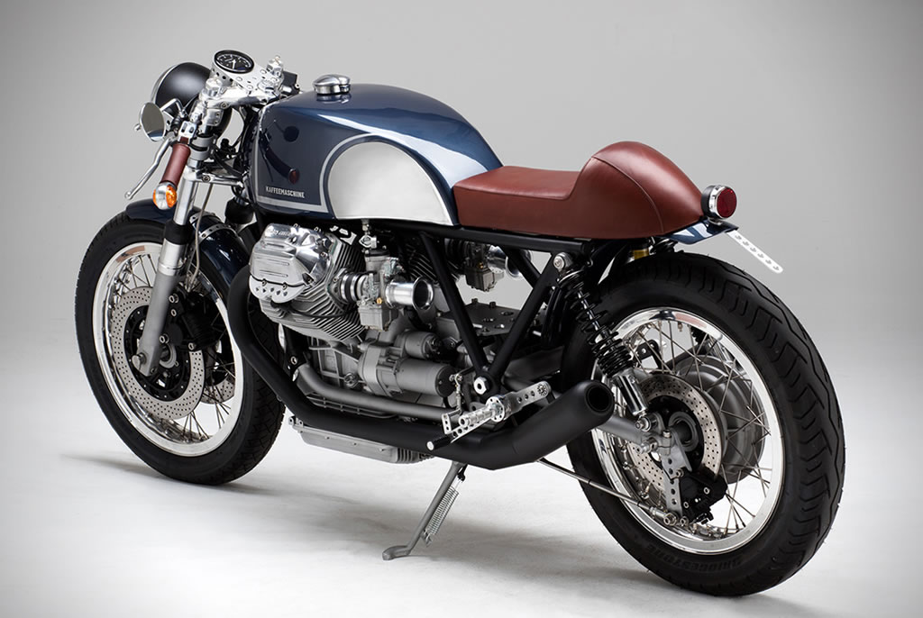 Kaffee Maschine's Moto Guzzi Le Mans MKIII Is Staggering 5