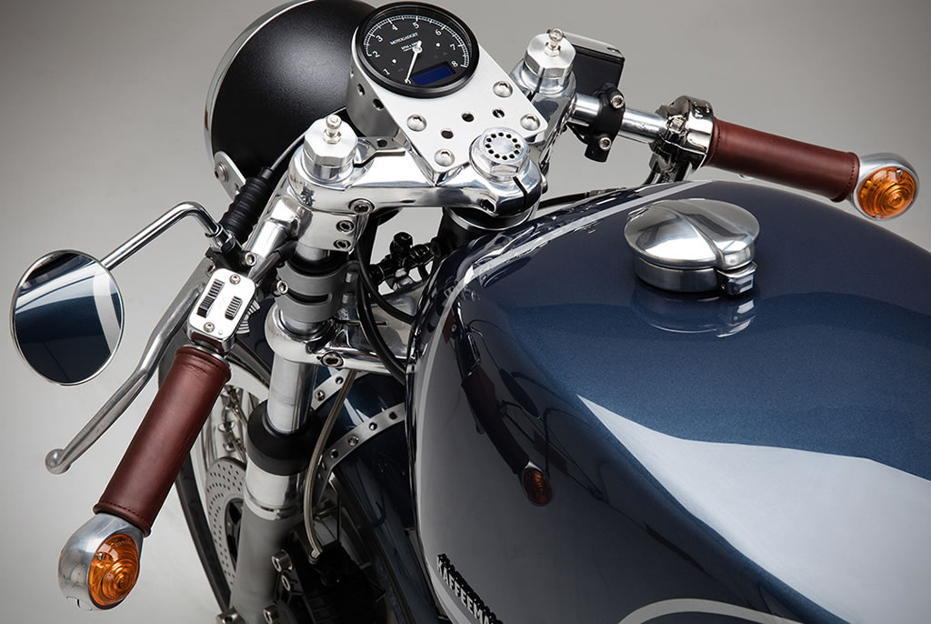 Kaffee Maschine's Moto Guzzi Le Mans MKIII Is Staggering 6