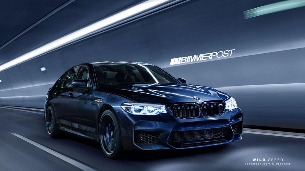 New 2018 BMW M5 1
