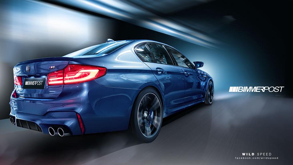 New 2018 BMW M5 2