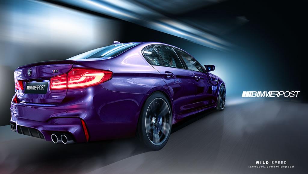 New 2018 BMW M5 4