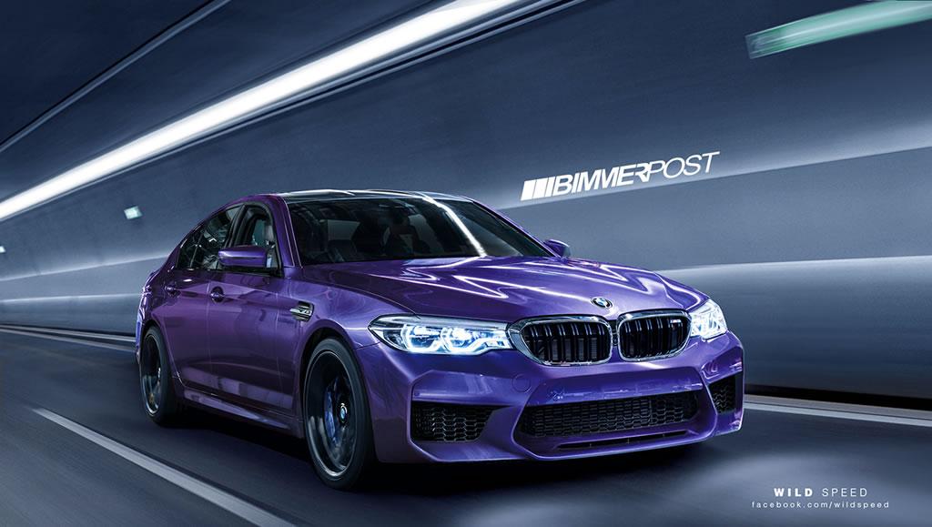 New 2018 BMW M5 5