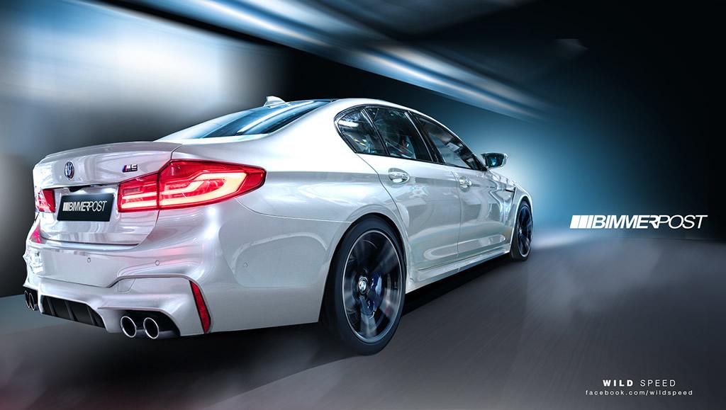 New 2018 BMW M5 6