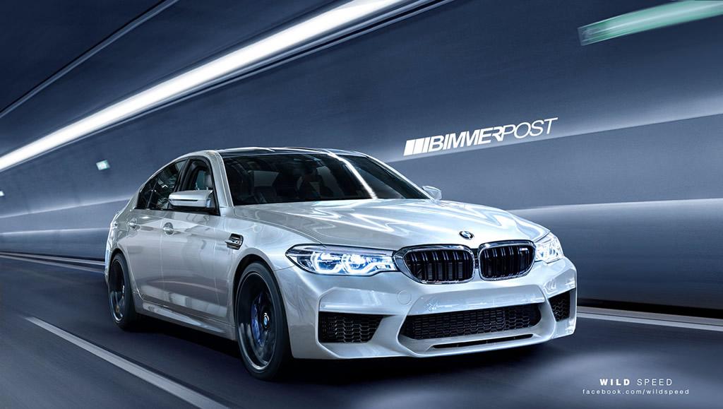 New 2018 BMW M5 7