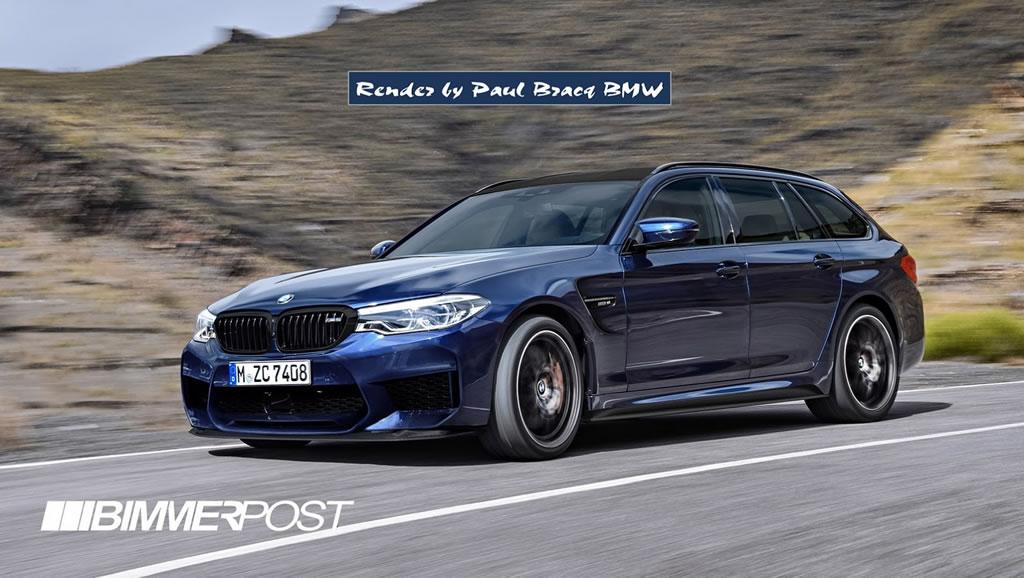 New 2018 BMW M5 8