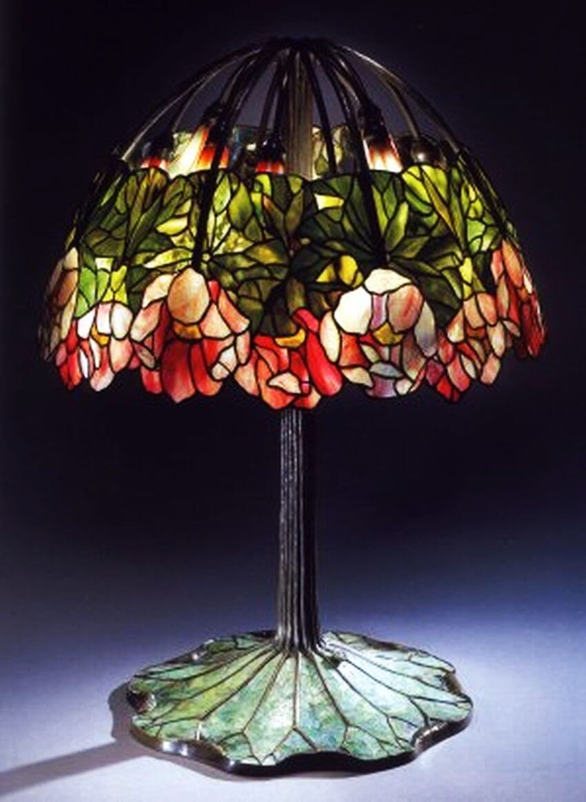 Pink Lotus By Tiffany Is The World's Most Expensive Lamp