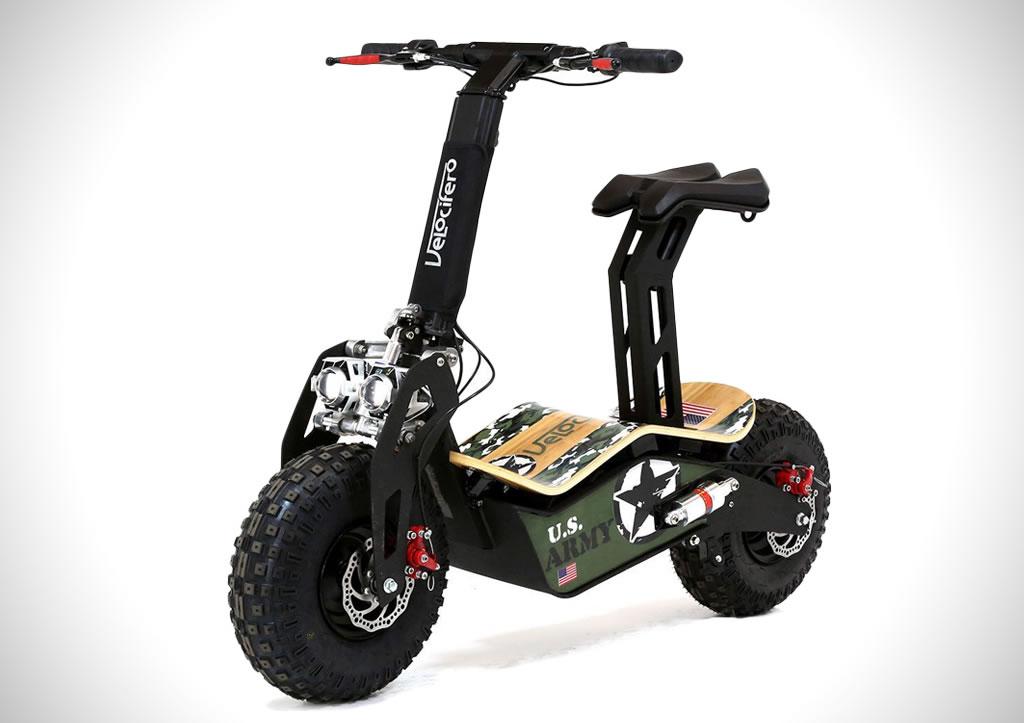 The Velocifero MAD Electric Scooter 1