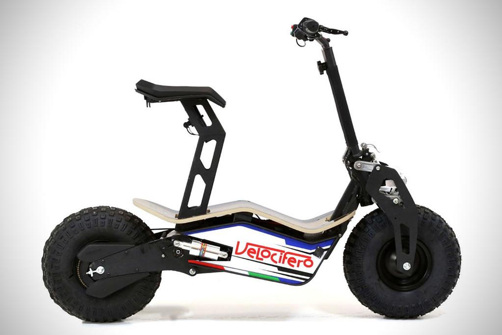 The Velocifero MAD Electric Scooter 2