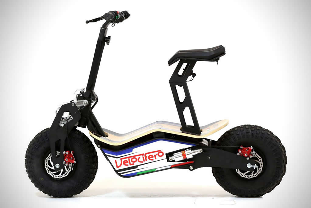 The Velocifero MAD Electric Scooter 5