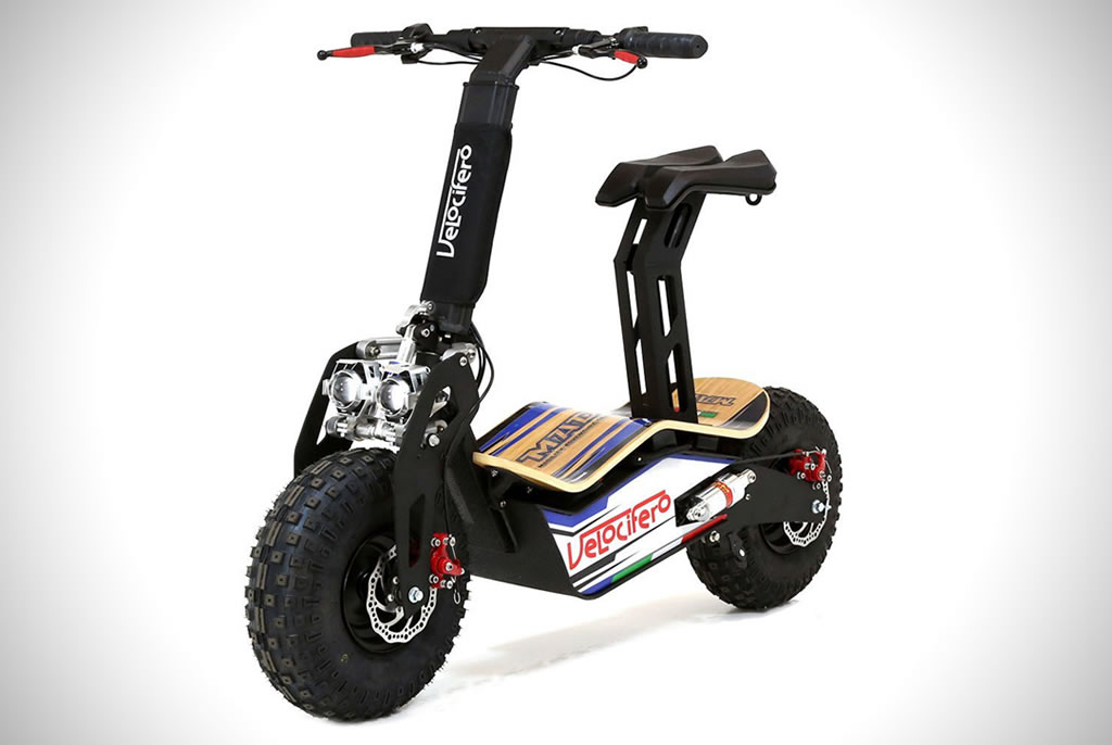 The Velocifero MAD Electric Scooter 6
