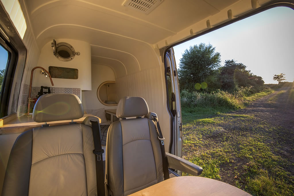 This Moving House Offers Outstanding Bespoke Van Conversions 5