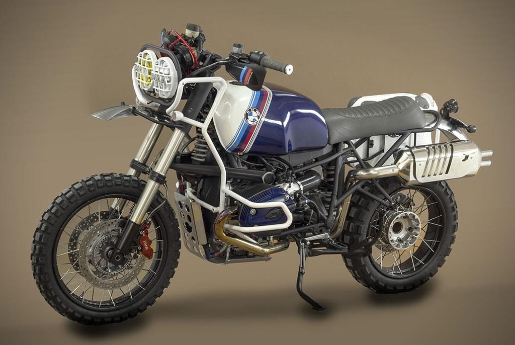 Ton Up Garage Creates A BMW GS Hunter 1200 Motorcycle 1