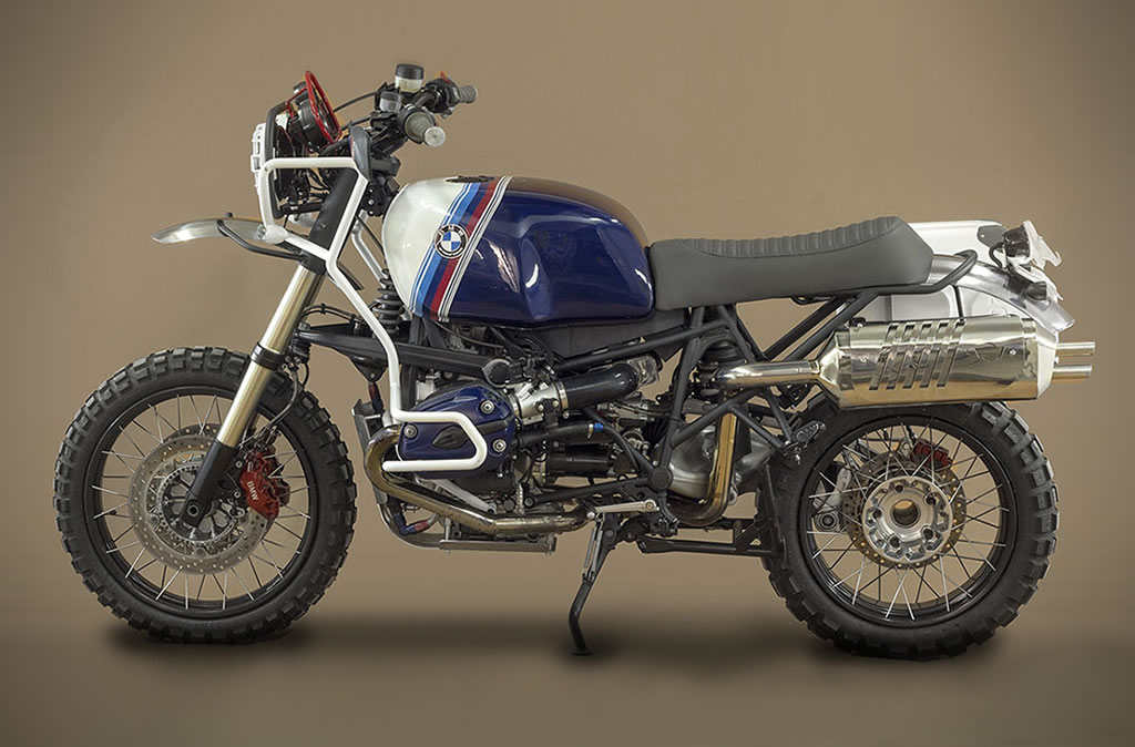 Ton Up Garage Creates A BMW GS Hunter 1200 Motorcycle 2