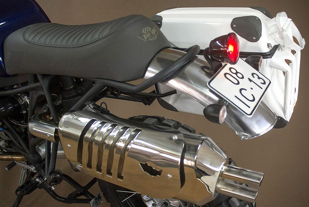 Ton Up Garage Creates A BMW GS Hunter 1200 Motorcycle 3