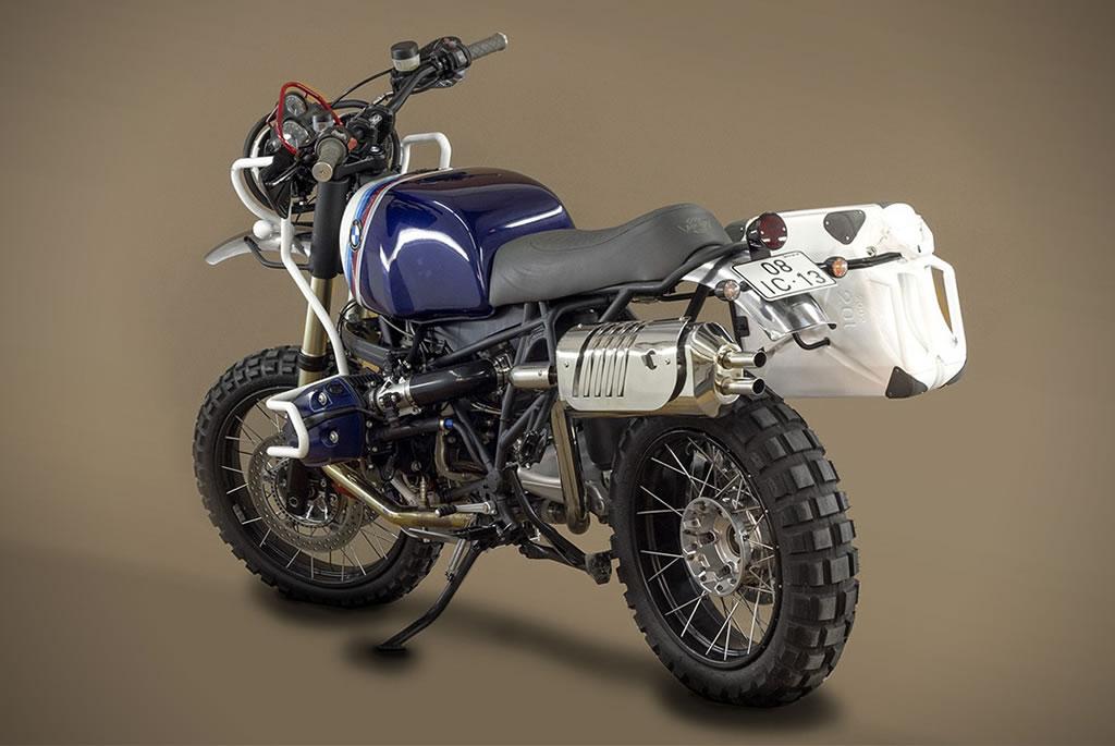 Ton Up Garage Creates A BMW GS Hunter 1200 Motorcycle 4